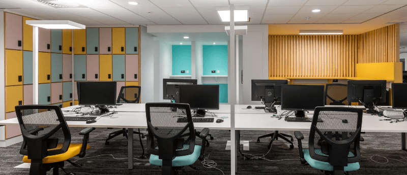 Office fit out layout