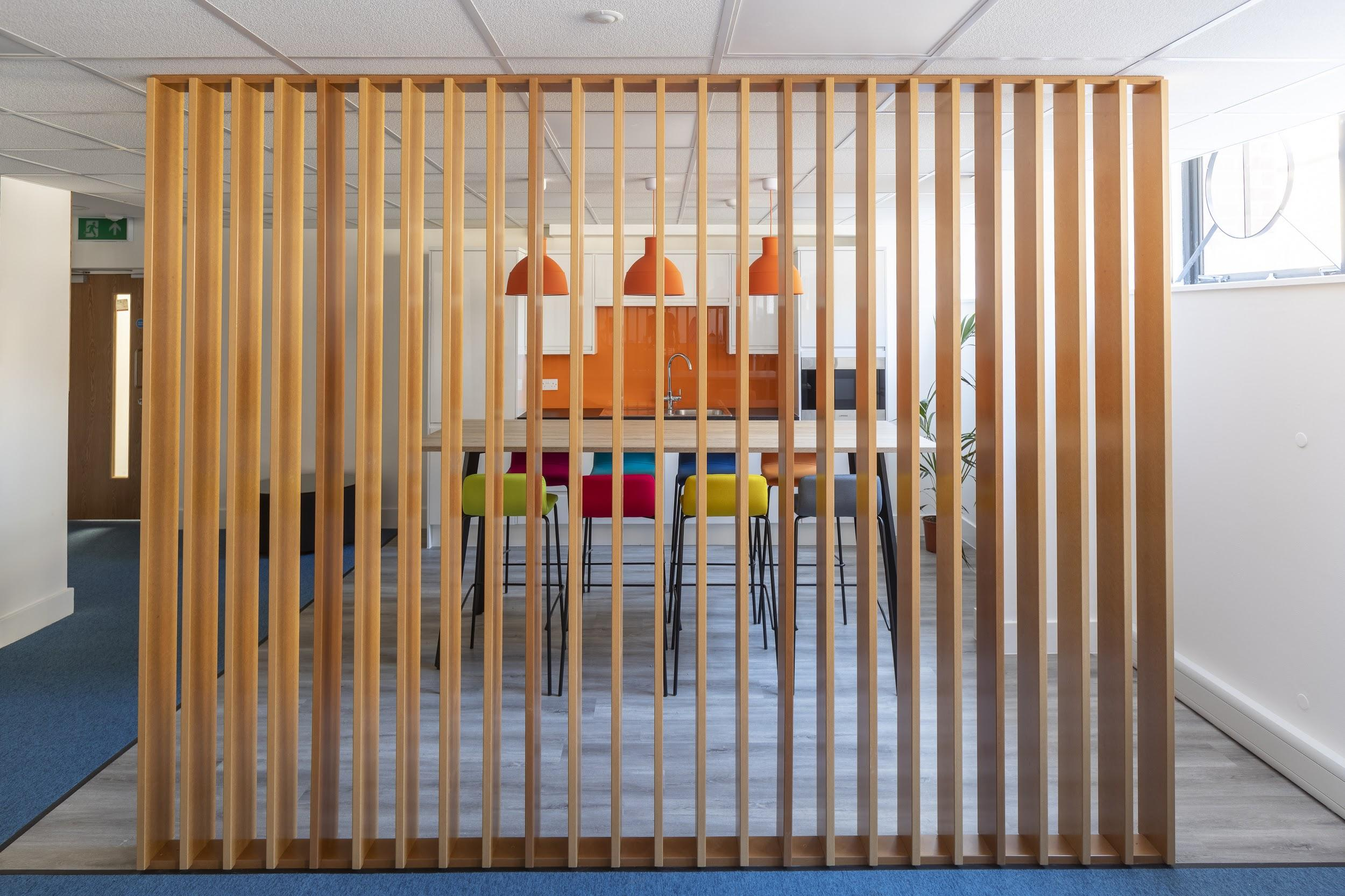 Modern Office partitioning