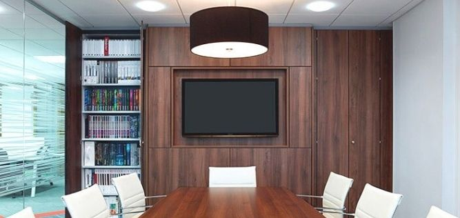 Office media wall Solutions